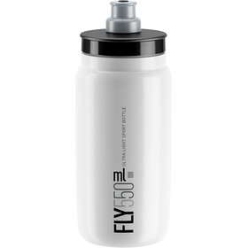 Elite Fly Drinking Bottle 0.5 l, white/grey logo